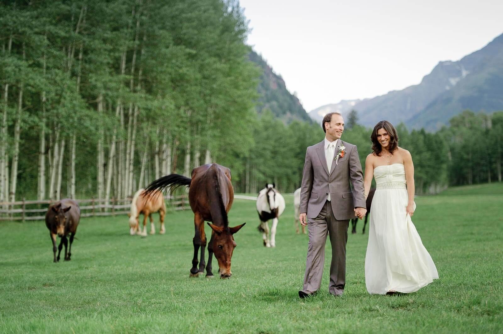 Aspen Destination Wedding photos