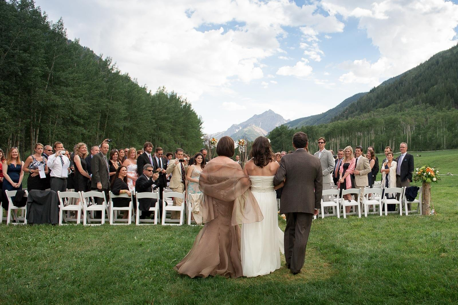 Destination Wedding at T-Lazy-7 Ranch in Aspen