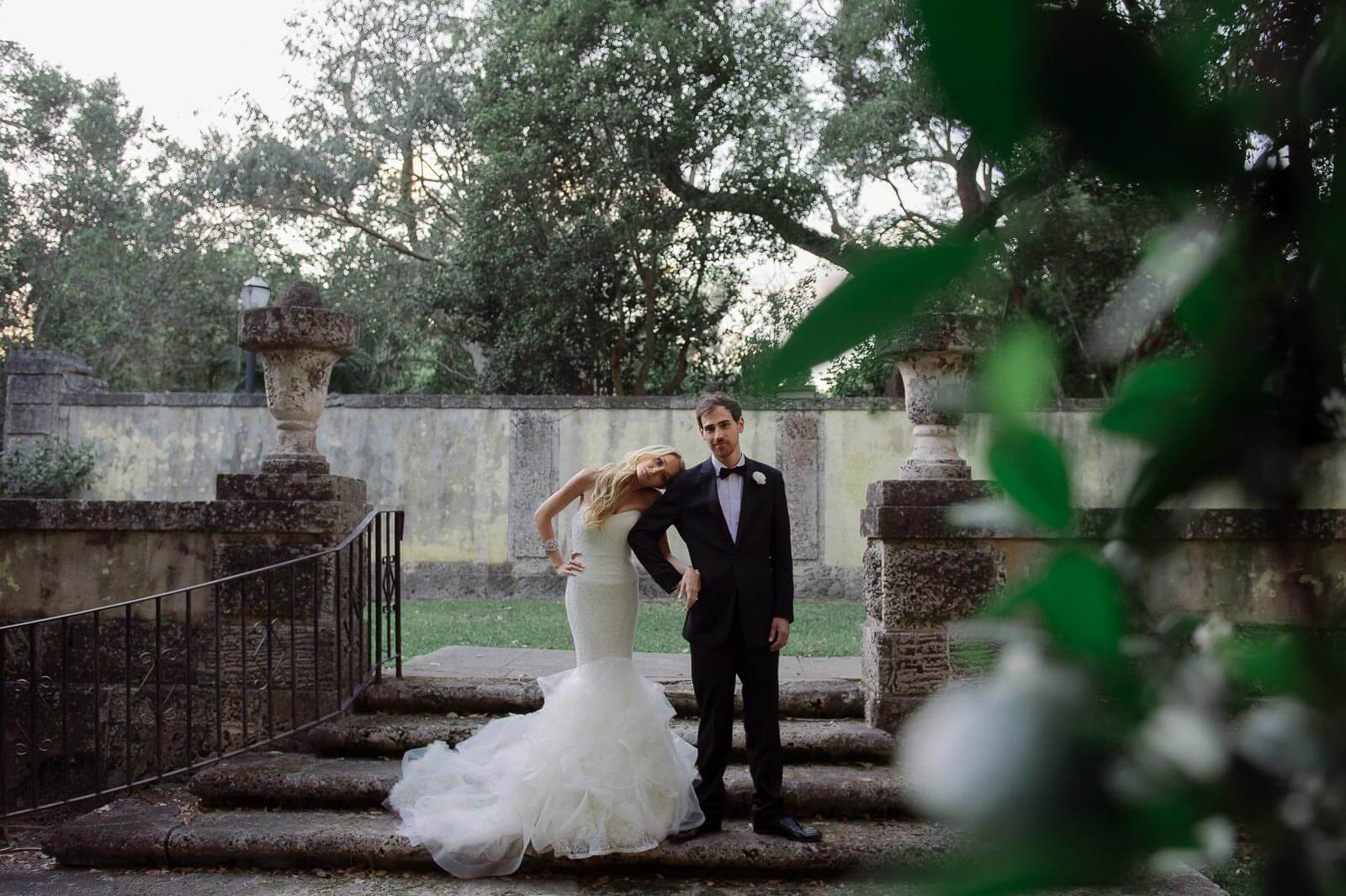 Sophisticated Vizcaya Museum Wedding