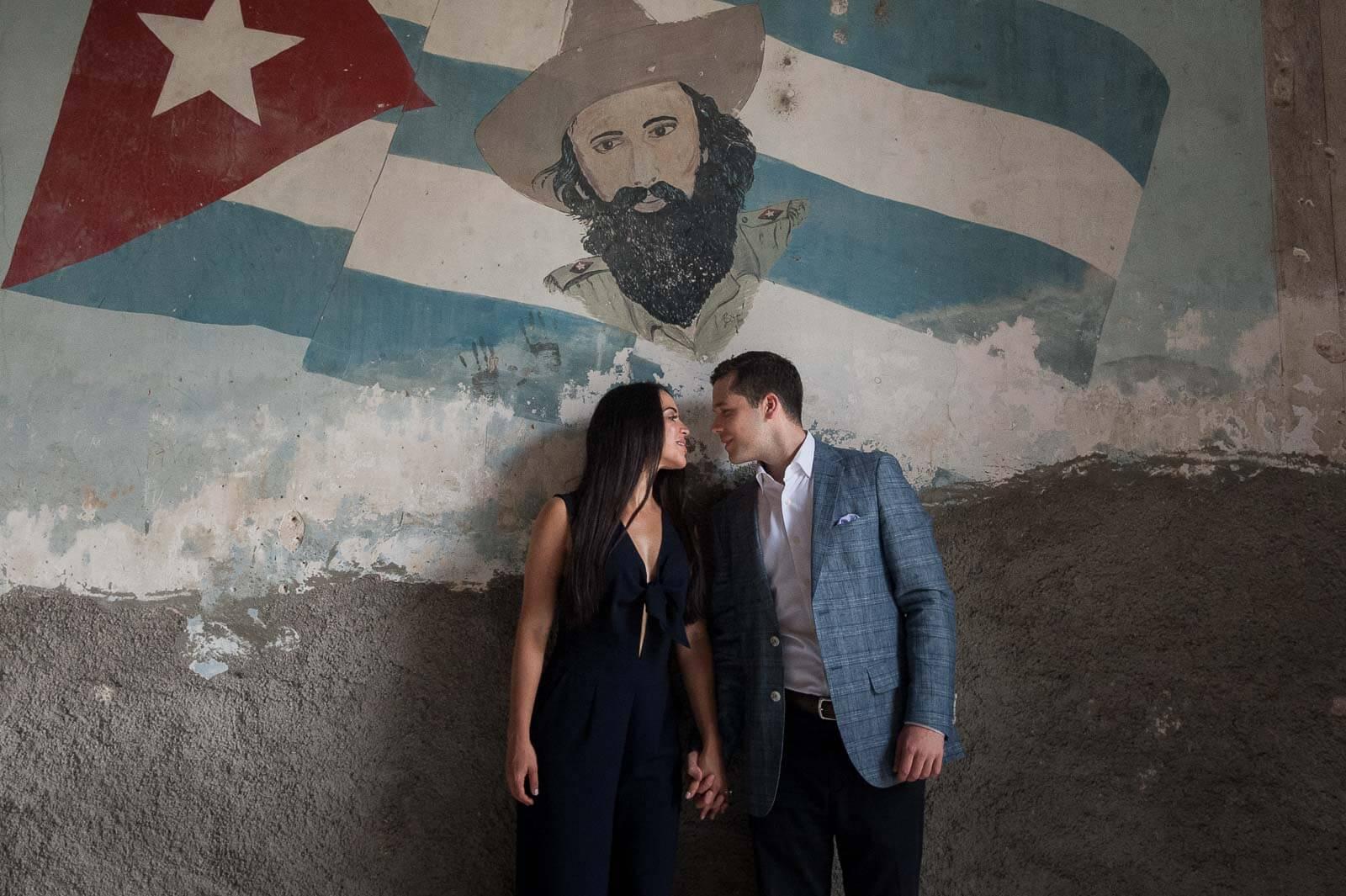 Havana Cuba Engagement Photos