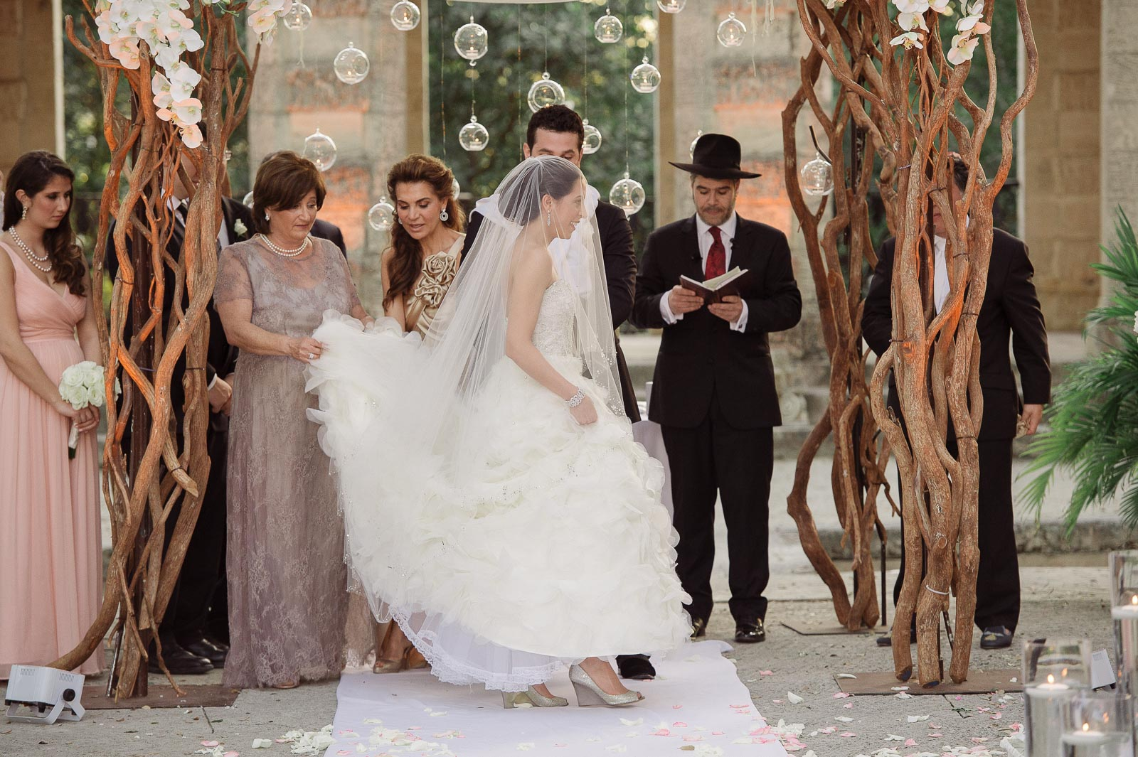 Jewish Wedding Celebration At Vizcaya