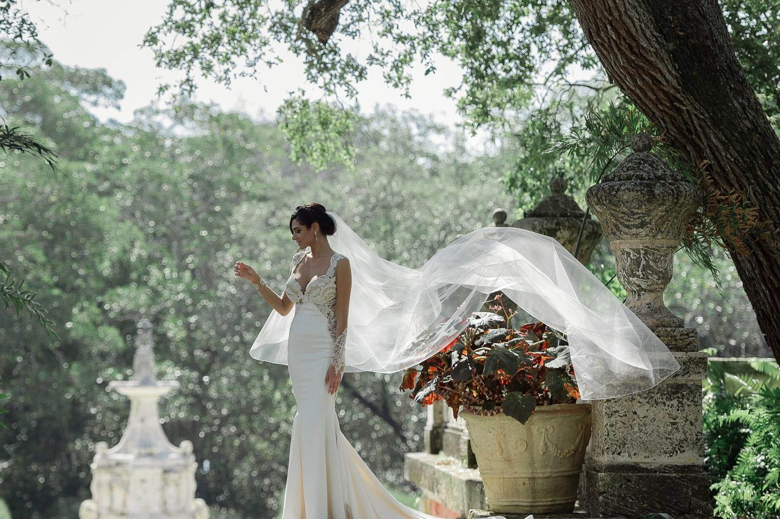 Best Vizcaya Museum Wedding Photographer