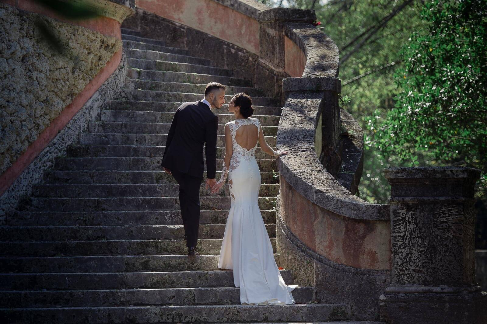 Intimate Vizcaya Museum Wedding