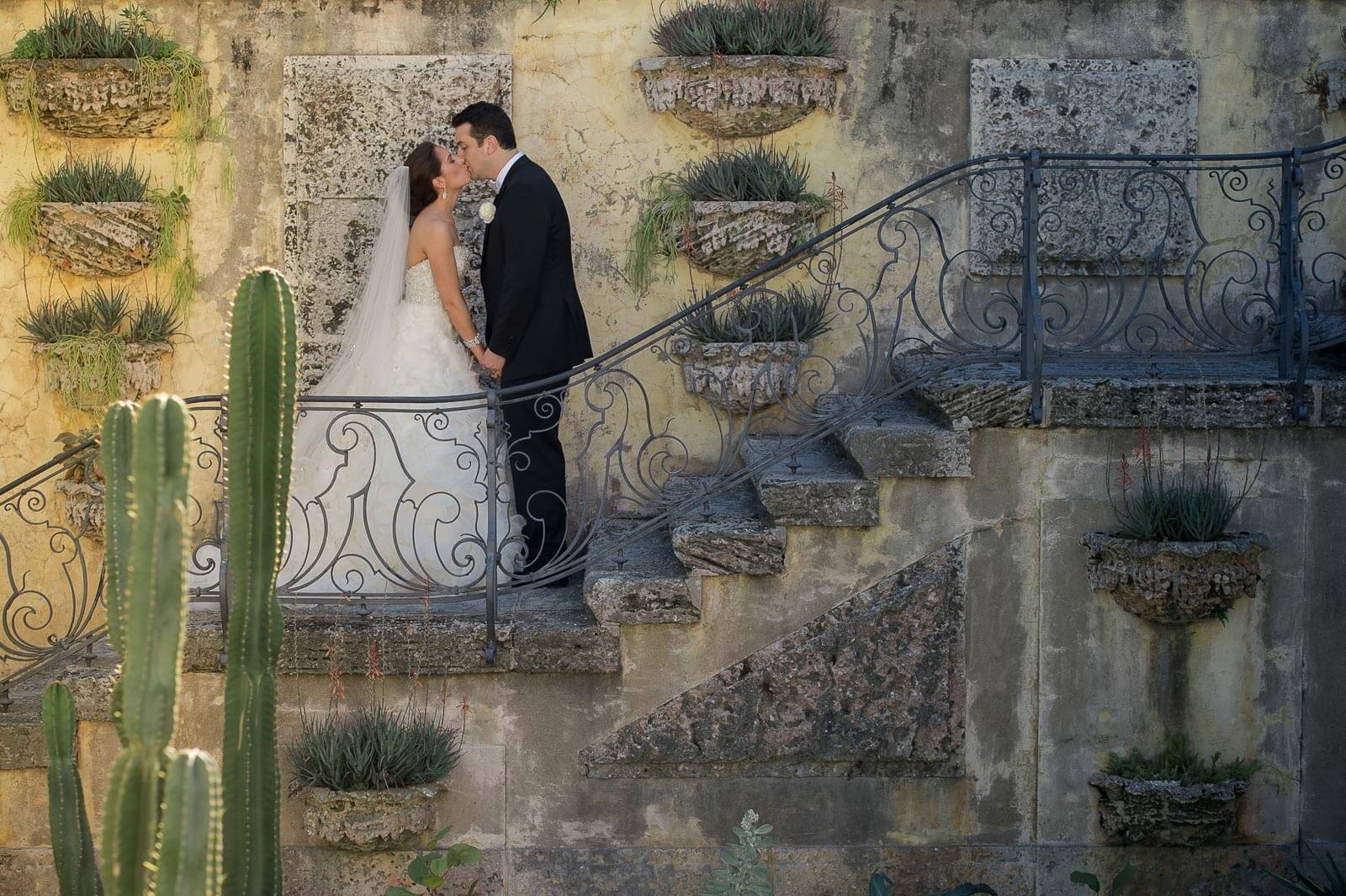 Vizcaya Museum and Gardens Jewish Wedding