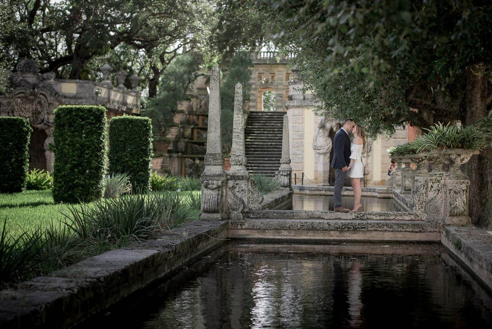 Best Vizcaya Museum Miami Engagements