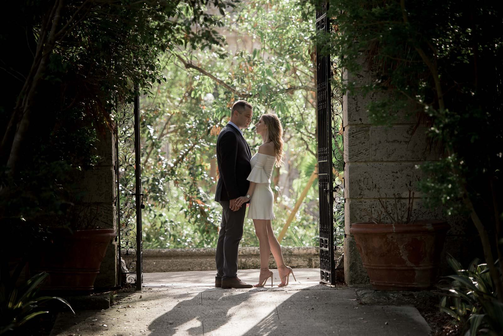 Vizcaya Engagement Photos