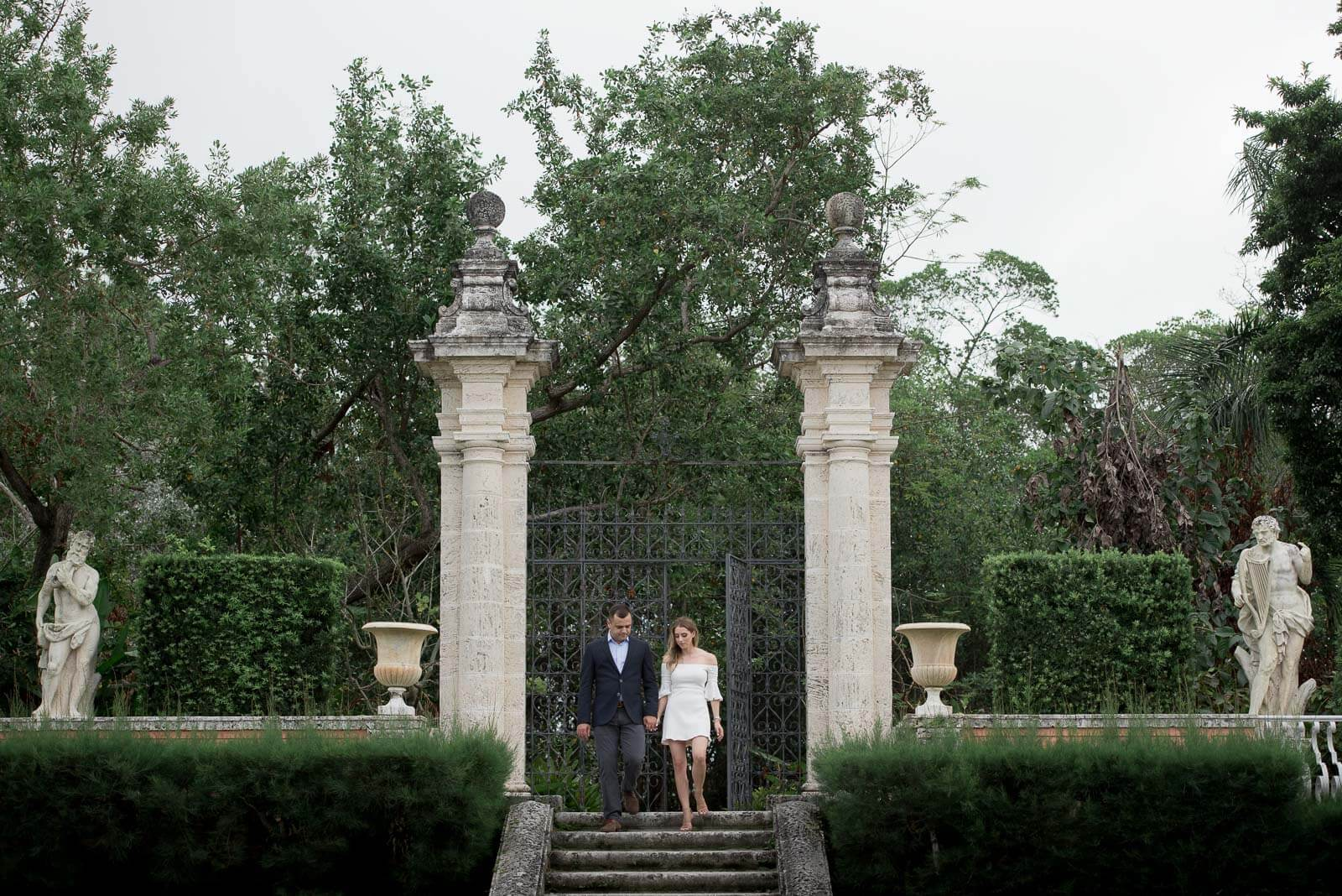 Vizcaya Engagement Session