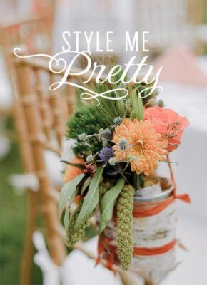 Award-winning Wedding Photographer featured in Style Me Pretty