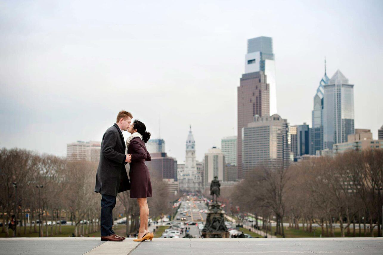 Philadelphia Engagement Session Photos