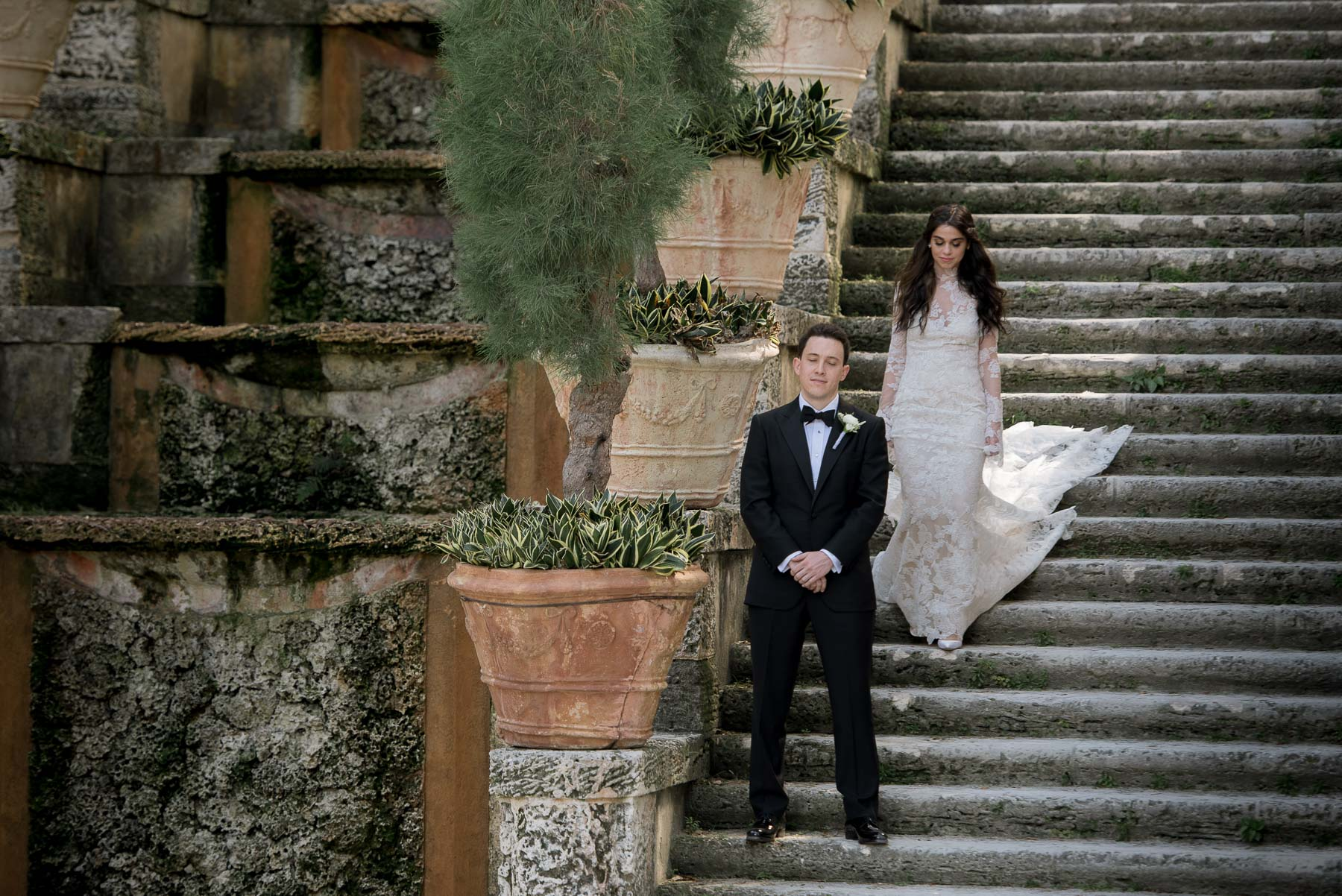 Vizcaya Museum Wedding Photography