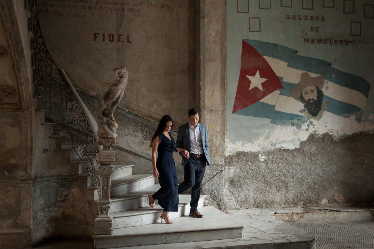 Havana Cuba Engagement